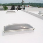 EPDM Roof With Coating