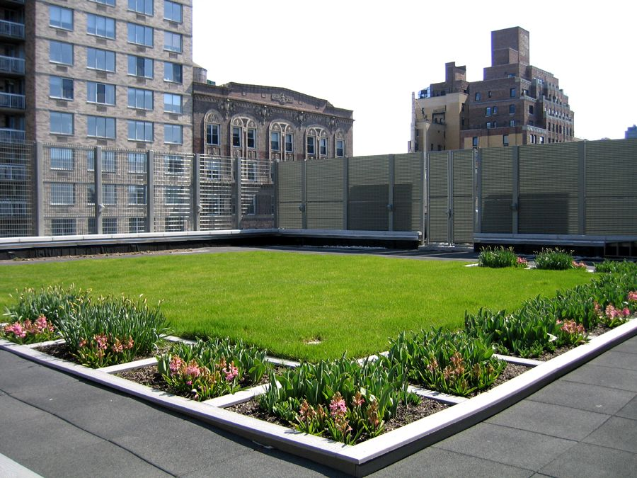 Example of Natural Green Roof Addon
