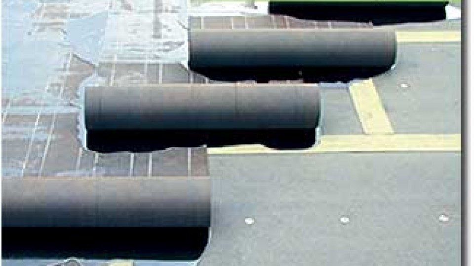 Flat BUR Roofing Example