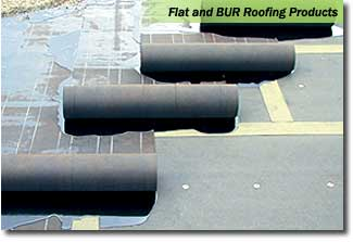 Flat BUR Roofing Example