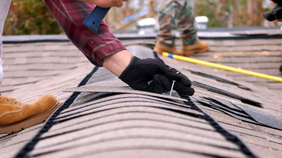 Roofing Repair Residential In Progress
