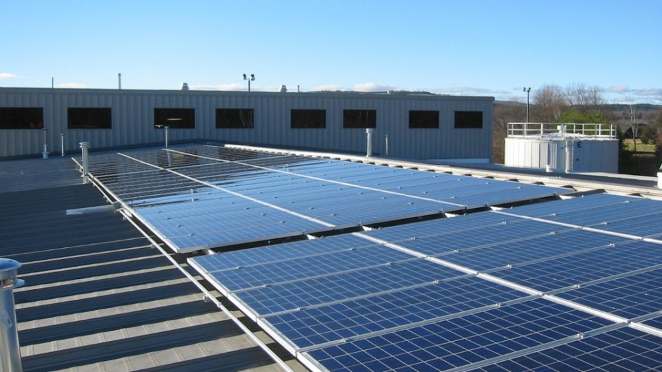Solar Panels in North VA Roof