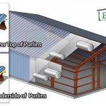 metal building roof insulation diagram